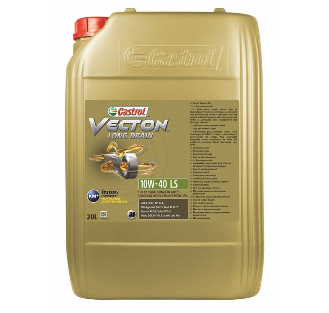 CASTROL VECTON (ENDURON) LONG DRAIN 10W-40 20 lit