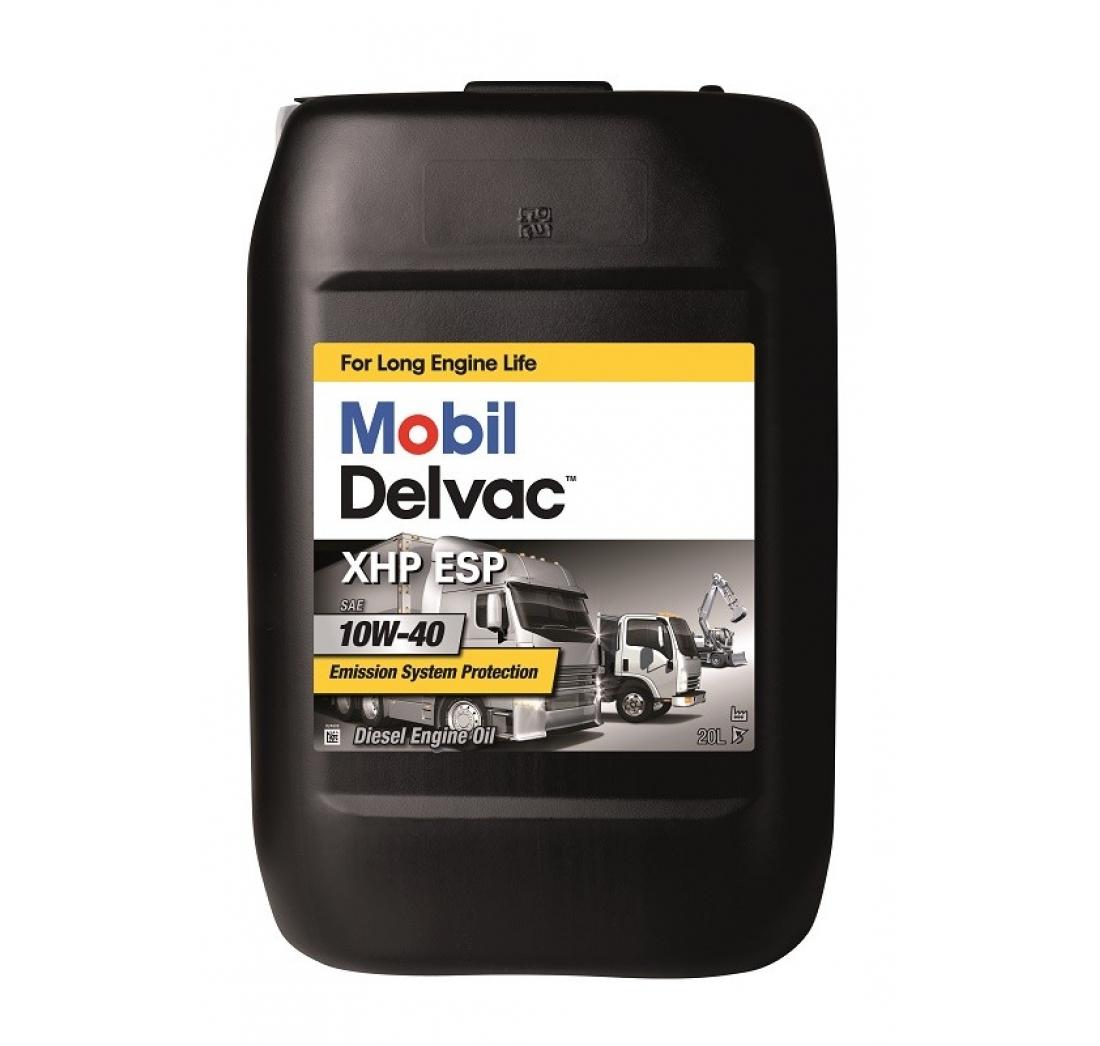 MOBIL DELVAC XHP ESP 10W-40 20 lit