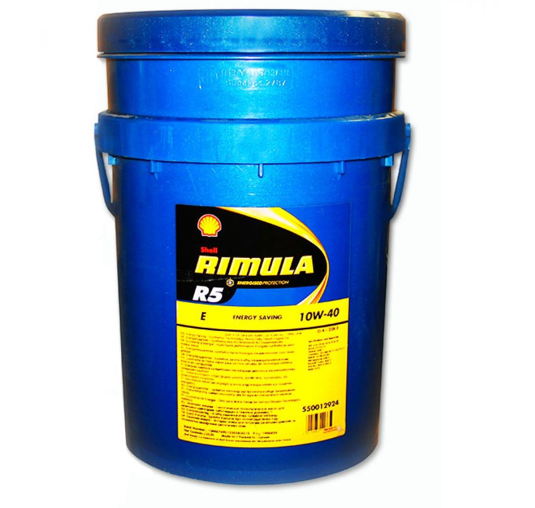 SHELL RIMULA R5-E 10W-40 20 lit