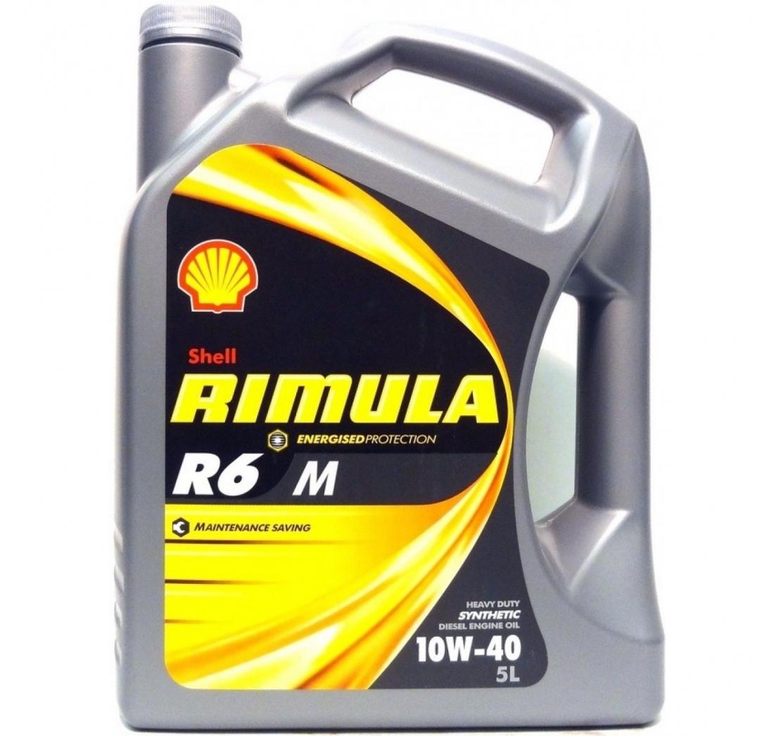 SHELL RIMULA R6M 10W-40 4 lit