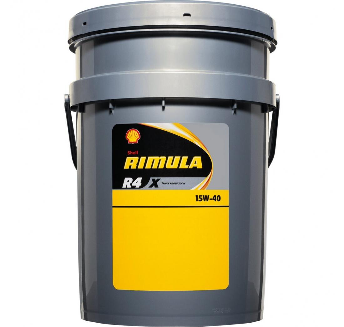 SHELL RIMULA R4L 15W-40 20 lit