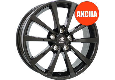 7,0X17 IT WHEELS ALICE 5/112   ET45 CH57,1 7,0 17 45 5X112 IT WHEELS 57,1 Gloss Black