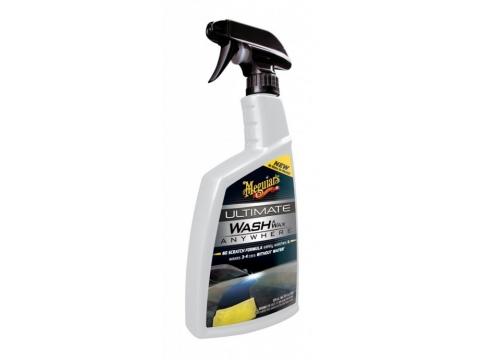 MEGUIARS Šampon sa voskom za suho pranje 769ml WASH & WAX ANYWHERE TRIGGER