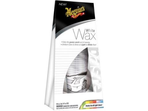 MEGUIARS Bijeli - svijetli Vosak WHITE WAX