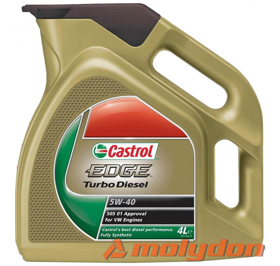 CASTROL EDGE TURBO DIESEL 5W40  (4L)