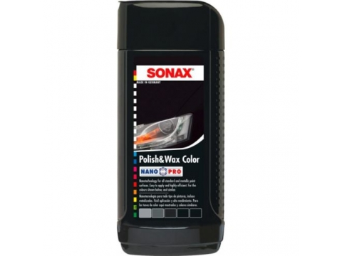 SONAX-POLITURA S VOSKOM CRNA 250ml