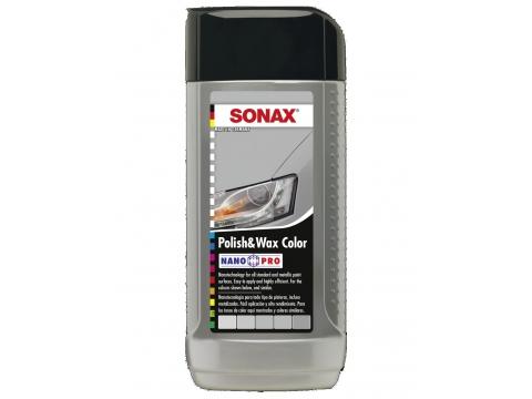 SONAX-POLITURA S VOSKOM SIVA 250ml