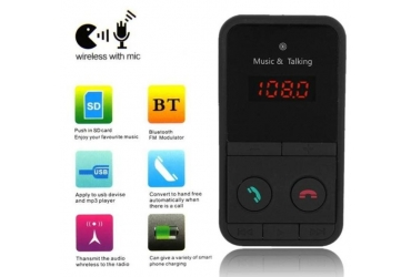 HANDSFREE/MP3/FM player za auto