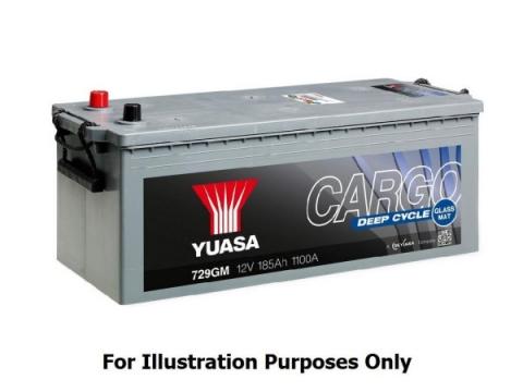 AKUMULATOR YUASA CARGO/MARINE 140 Ah AGM