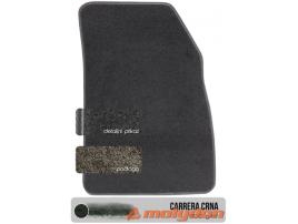 Tekstilni tepisi crne boje basic kvalitete tkanja po tipu automobila