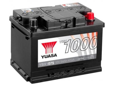 AKUMULATOR YUASA (1000) 12V/54Ah D+