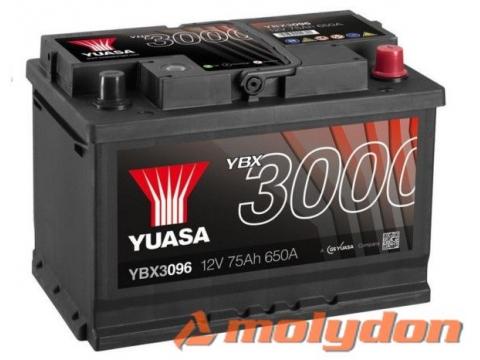 AKUMULATOR YUASA (3000 PREMIUM) 12V/75Ah D+