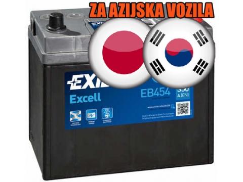 AKUMULATOR EXIDE EXCELL 45 AH D+ JAPAN