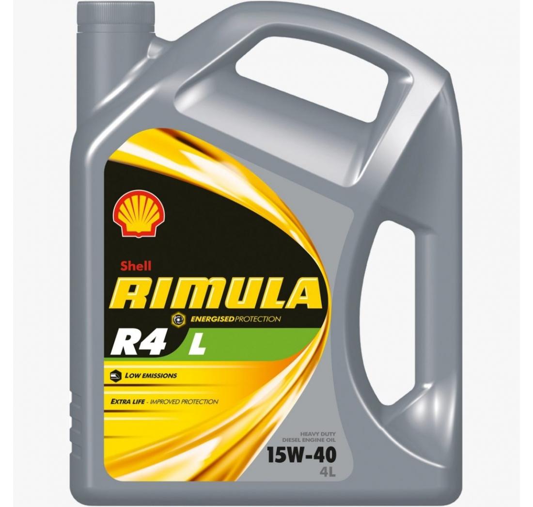 SHELL RIMULA R4L 15W-40 4 lit