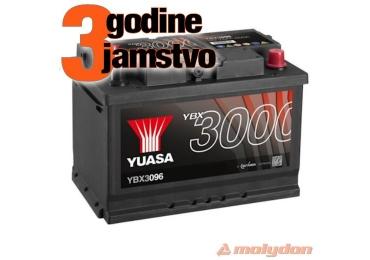 AKUMULATOR YUASA (3000 PREMIUM) 12V/60Ah D+
